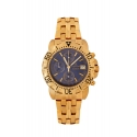 Caesium - 1119G - Gents, 23k gold plated, blue dial