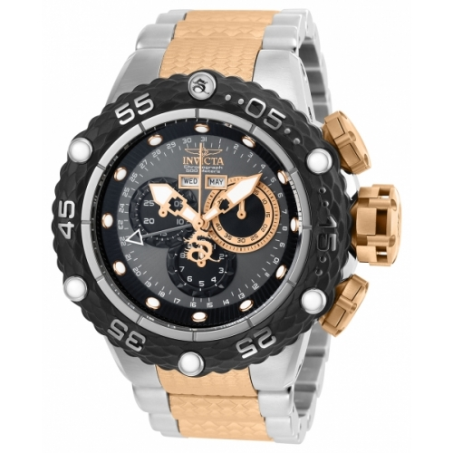 INVICTA Subaqua Men 51.2mm Stainless Steel Rose Gold + Black + Stainless Steel Black+Gunmetal dial 5040.F Quartz